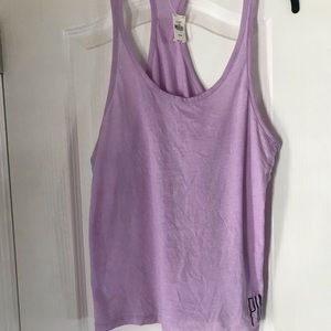 T-Tank by Pink, Lace Sides! Med, Lavender New!